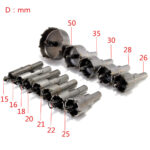 Set di punte per trapano Drillpro 12pcs 15mm-50mm