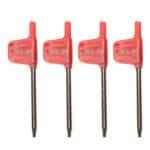 4 pezzi 6/7/8 / 10mm SCLCR06 Portautensili per tornitura Portautensili Tornio con inserti CCMT060204