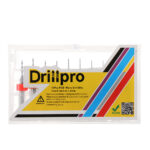 Drillpro DB-P1 30pcs 0.1-2.0mm Punte di trapano CNC in lega di acciaio al tungsteno per PCB