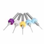 Drillpro 50 pezzi 0,5-0,9 mm punta in metallo duro con micro punte in carburo di tungsteno per circuito stampato