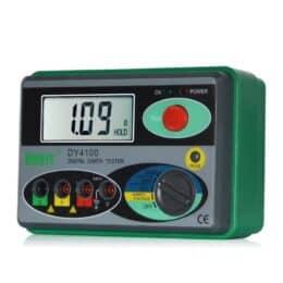 DUOYI DY4100 tester di resistenza tester di terra digitale strumento di resistenza al suolo Megohmmetro 0-2000 Ohm Misuratore di precisione superiore