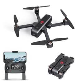 Eachine EX3 GPS 5G WiFi FPV con fotocamera 2K Flusso ottico OLED commutabile remoto Brushless pieghevole RC Drone Quadcopter RTF