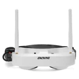Eachine EV100 720 * 540 5.8G 72CH FPV Occhiali con doppia antenna Fan 7.4V 1000mAh Batteria per RC Drone