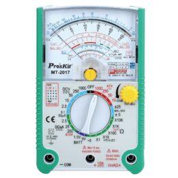 Proskit MT-2017 AC / DC multimetro analogico con funzione protettiva LCD